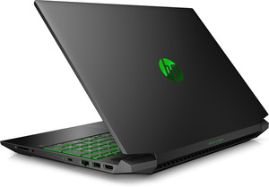 HP Pavilion 15-dk0358ng, Gaming Notebook mit 15.6 Zoll Display, Core™ i5 Prozessor, 16 GB RAM, 512 GB SSD, GeForce® GTX 1650, Schwarz