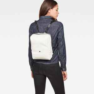 Mozoe Leather Backpack