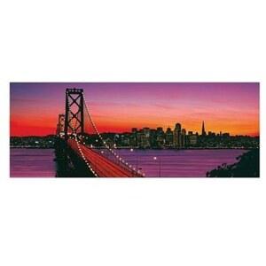 Ravensburger Puzzle: San Francisco, Oakland Bay Bridge bei Nacht, 1000 Teile