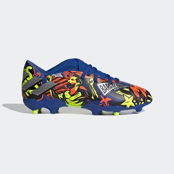 Fussballschuhe Nocken Nemeziz Messi 19.3 FG Kinder blau
