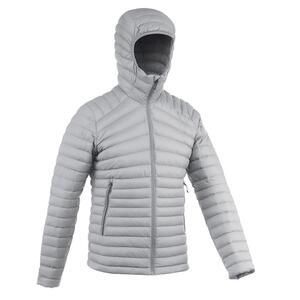 Daunenjacke Trek 100 Komforttemperatur -5 °C Herren grau