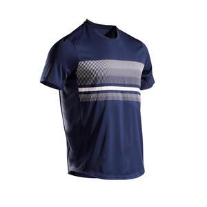 Tennis-T-Shirt TTS100 Herren marineblau
