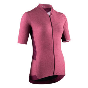 Radtrikot kurzarm RCR Damen rosa abgestuft
