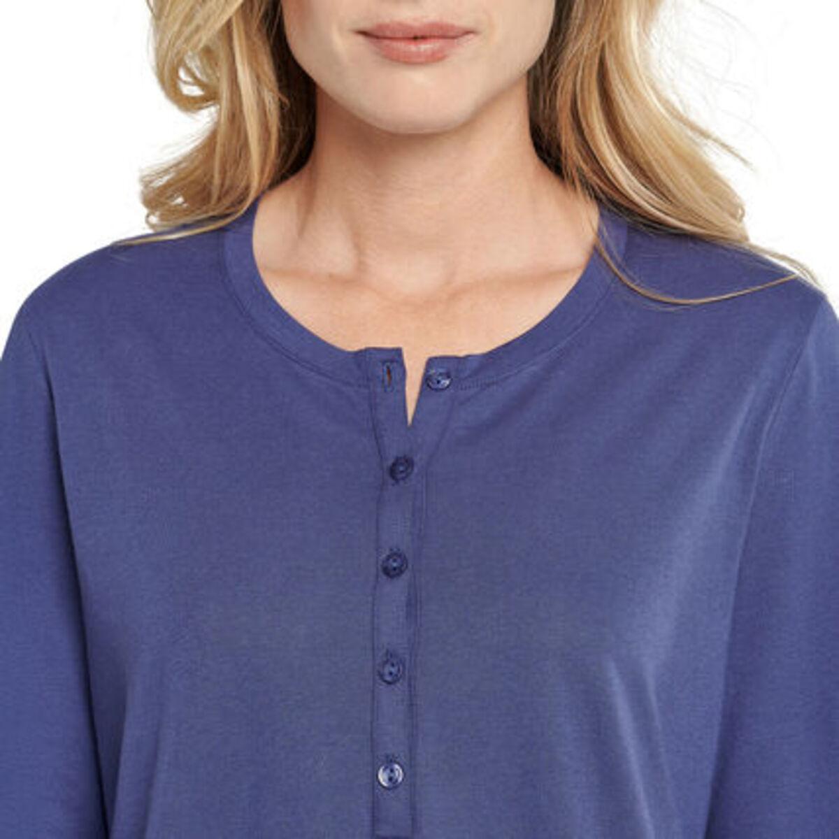 Bild 3 von Schiesser Schlafanzug, lang, Knopfleiste, für Damen