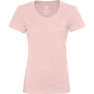 MANGUUN Shirt, Basic, Kurzarm, uni, für Damen