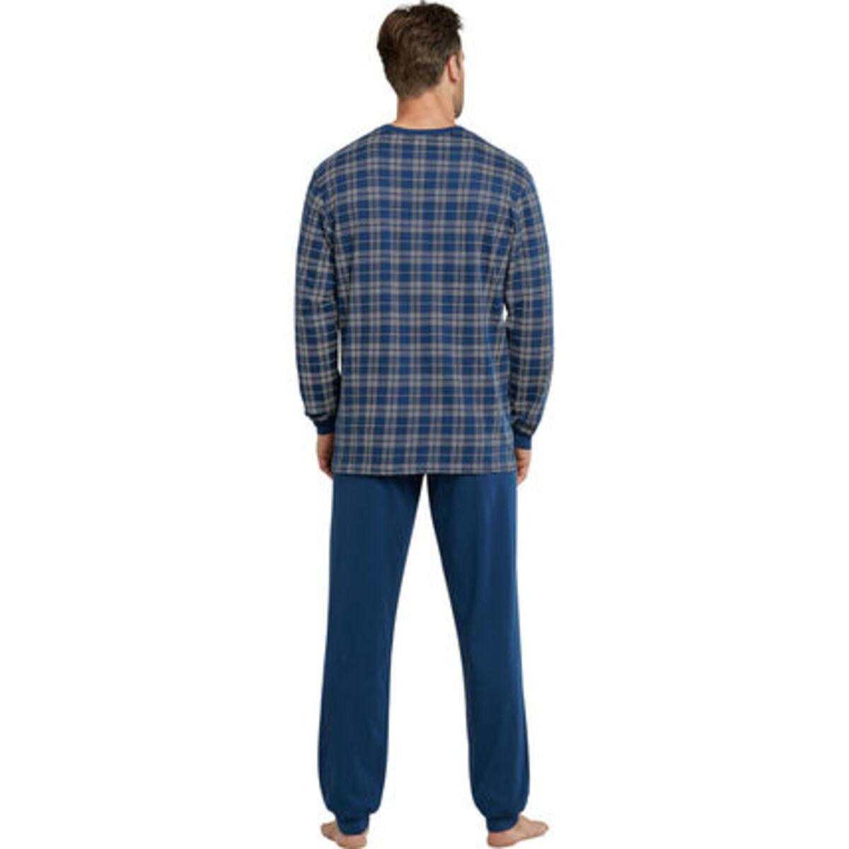 Bild 2 von Schiesser Schlafanzug, Karo-Shirt, Baumwolle, für Herren