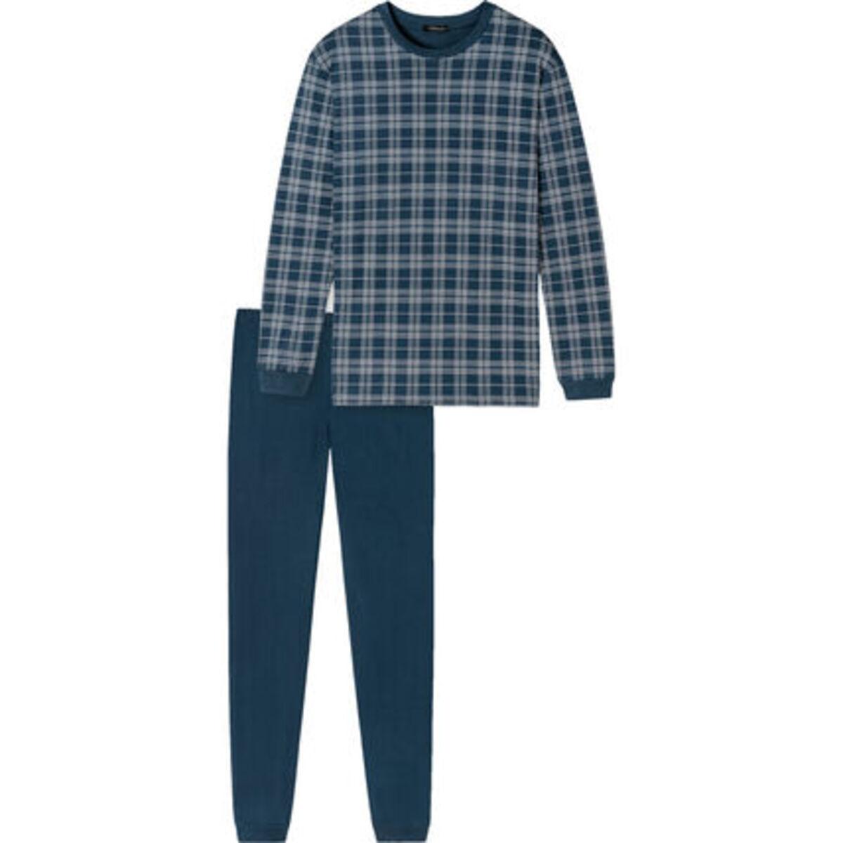Bild 3 von Schiesser Schlafanzug, Karo-Shirt, Baumwolle, für Herren
