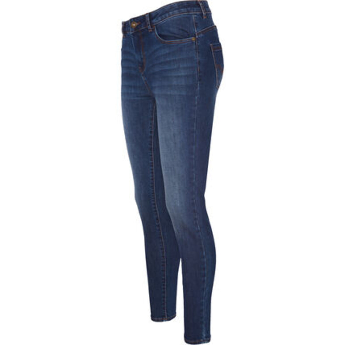 Bild 1 von MANGUUN Jeans, 5-Pocket-Stil, Used-Look, für Damen
