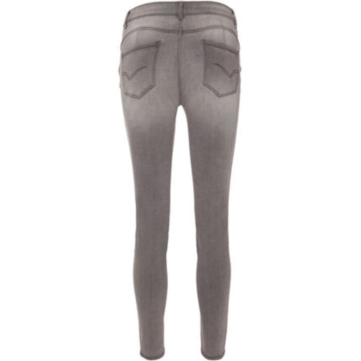 Bild 3 von MANGUUN Jeans, Slim Fit, destroyed-Look, für Damen