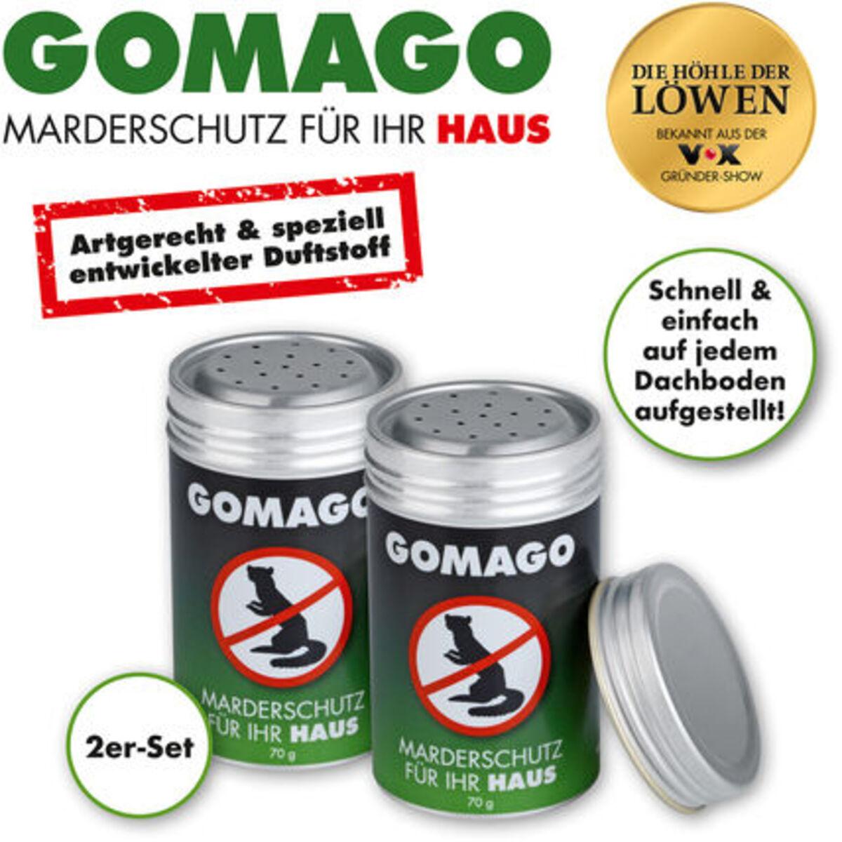 Bild 2 von Gomago Mardervergrämung, Haus, 2er-Set 70 g