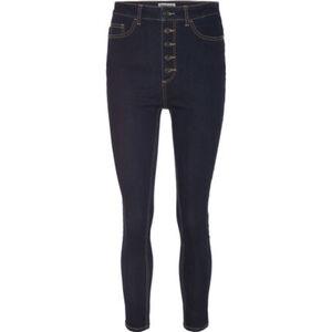 MANGUUN Jeans, Skinny Fit, Kontrastnähte, für Damen
