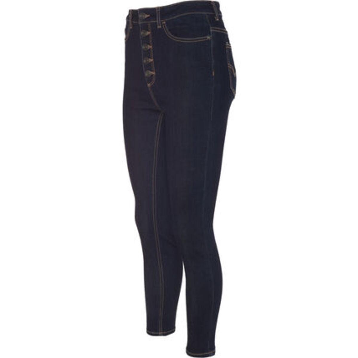 Bild 2 von MANGUUN Jeans, Skinny Fit, Kontrastnähte, für Damen