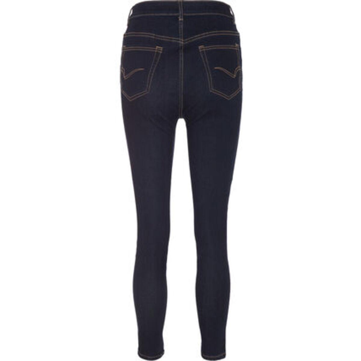 Bild 3 von MANGUUN Jeans, Skinny Fit, Kontrastnähte, für Damen