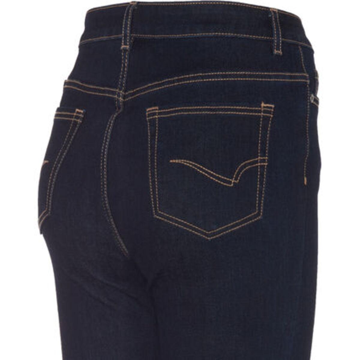 Bild 4 von MANGUUN Jeans, Skinny Fit, Kontrastnähte, für Damen