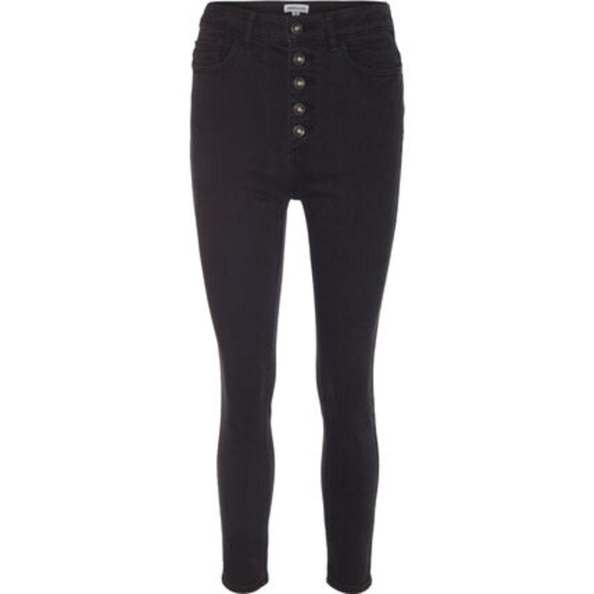 Bild 1 von MANGUUN Jeans, Skinny Fit, Knopfleiste, für Damen