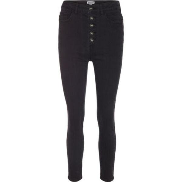 MANGUUN Jeans, Skinny Fit, Knopfleiste, für Damen
