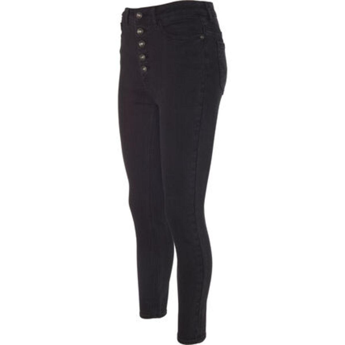 Bild 2 von MANGUUN Jeans, Skinny Fit, Knopfleiste, für Damen