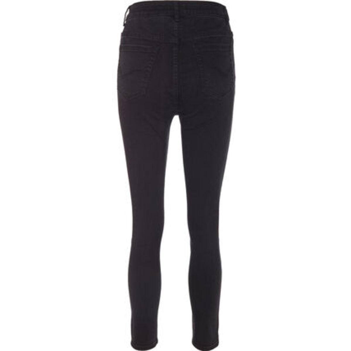 Bild 3 von MANGUUN Jeans, Skinny Fit, Knopfleiste, für Damen