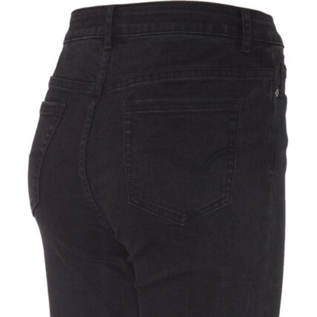 Bild 4 von MANGUUN Jeans, Skinny Fit, Knopfleiste, für Damen