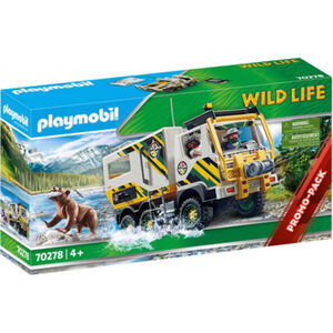 PLAYMOBIL® Wild Life - Expeditionstruck 70278