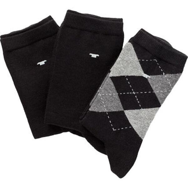 Tom Tailor Socken, 3er Pack, Argyle-Muster, für Damen