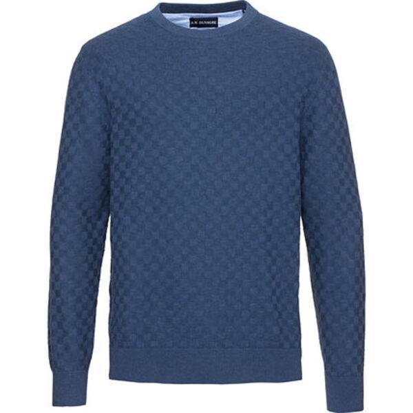Dunmore Herren Struktur-Rundhals-Pullover