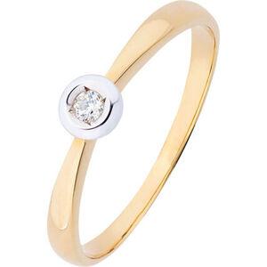 Vandenberg Damen Ring, 375er Gelbgold mit Brillant