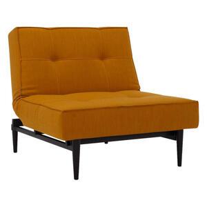 Innovation SESSEL Flachgewebe Gelb, Currygelb , Splitback , Textil , 90x79x115 cm , Flachgewebe , Stoffauswahl , 001658000723