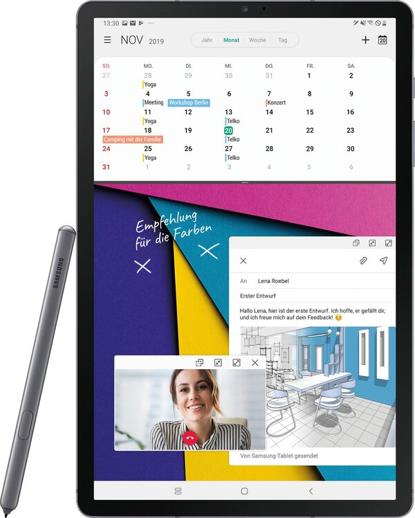 "Samsung Galaxy Tab S6 - WiFi Tablet (10,5"", 128 GB, Android)"