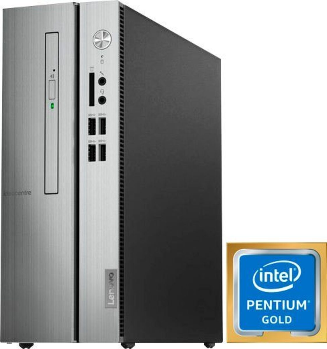 Bild 1 von Lenovo ideacentre 510s-07ICK PC (Intel® Pentium Gold, UHD Graphics 610, 8 GB RAM, 256 GB SSD, inkl. Office-Anwendersoftware Microsoft 365 Single im Wert von 69 Euro)