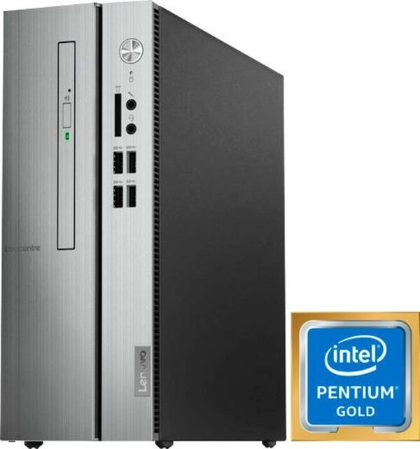 Lenovo ideacentre 510s-07ICK PC (Intel® Pentium Gold, UHD Graphics 610, 8 GB RAM, 256 GB SSD, inkl. Office-Anwendersoftware Microsoft 365 Single im Wert von 69 Euro)