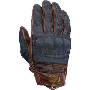 Leder-Denim Handschuh 1.0