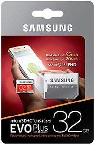 Samsung microSD EVO Plus + SD Adapter »Geeignet für 4K UHD Super Slow Motion Aufnahmen«