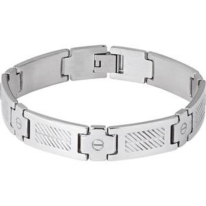 Spirit Motors Edelstahl Armband 5.0 silber