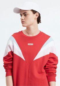Levi's® Sweatkleid »FLORENCE CREW DRESS Baby« in Colour- Blocking- Optik