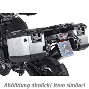 H&B Xplorer Cutout Kofferset für KTM 1290 Adventure silber