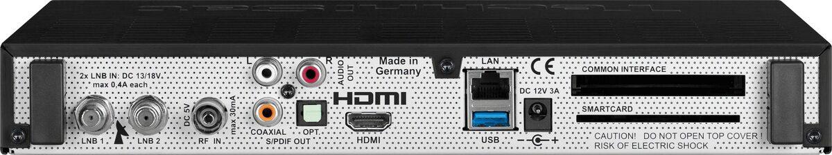 Bild 3 von TechniSat »DIGIT ISIO STC+ Smarter UHD/4K« Satellitenreceiver (LAN (Ethernet), WLAN, mit dreifachem TwinTuner und integriertem HD+ Sender-Paket)