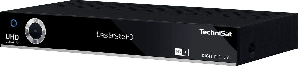 Bild 5 von TechniSat »DIGIT ISIO STC+ Smarter UHD/4K« Satellitenreceiver (LAN (Ethernet), WLAN, mit dreifachem TwinTuner und integriertem HD+ Sender-Paket)