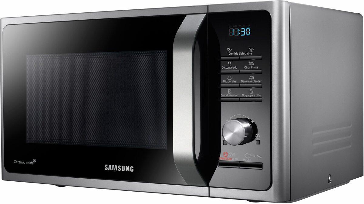 Bild 3 von Samsung Mikrowelle MW3000 MS28F303TAS/EG, Mikrowelle, 28 l, mit Keramik-Emaille-Innenraum