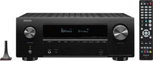 Denon »AVRX2700 - 7.2-Kanal 8K« 7 AV-Receiver (LAN (Ethernet), WLAN, Bluetooth, Multiroom fähig, unterstützt bevorzugten Sprachassistenten)