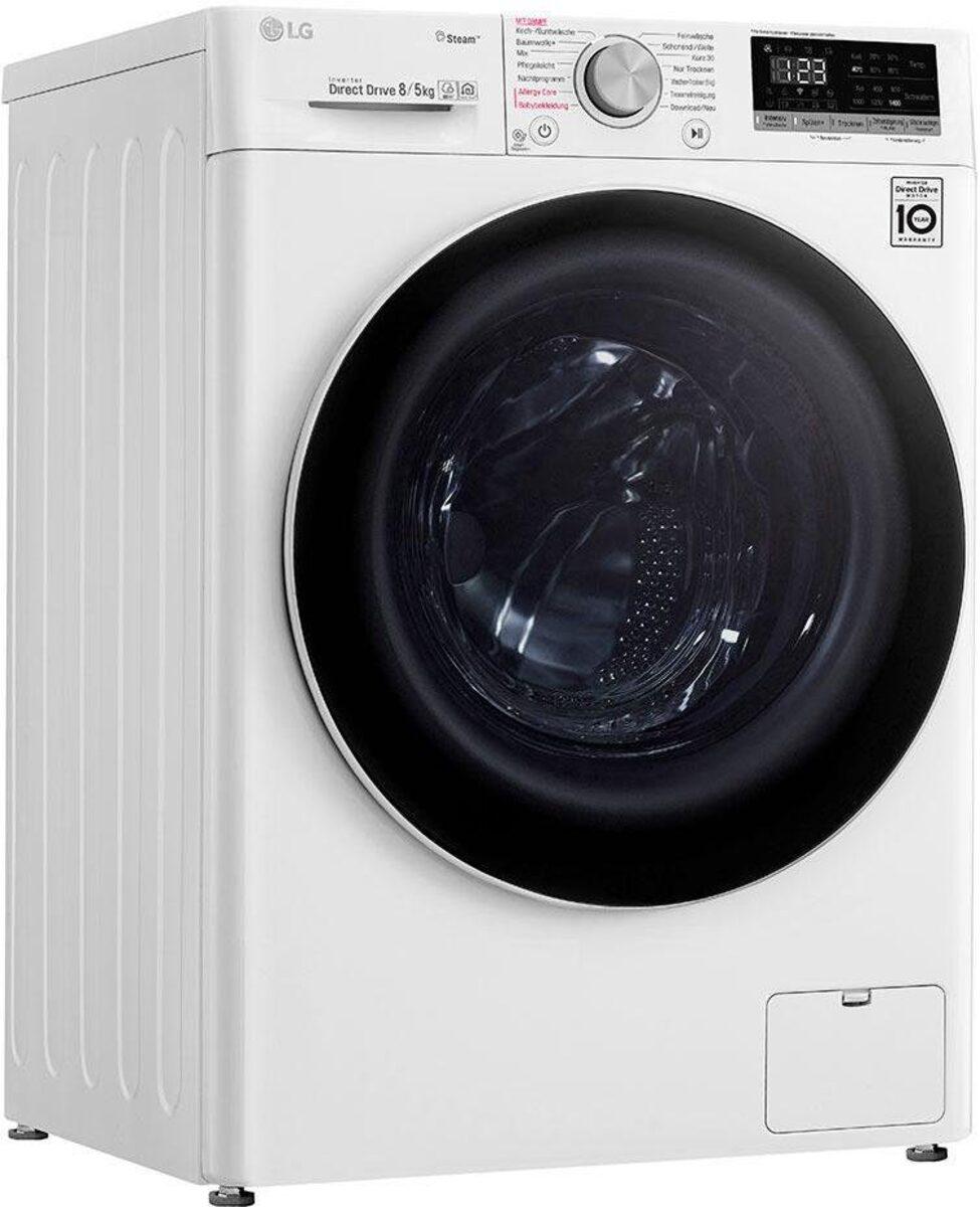 Bild 1 von LG Waschtrockner 4 V4 WD 85S1, 8 kg/5 kg, 1400 U/Min, mit Dampftechnologie
