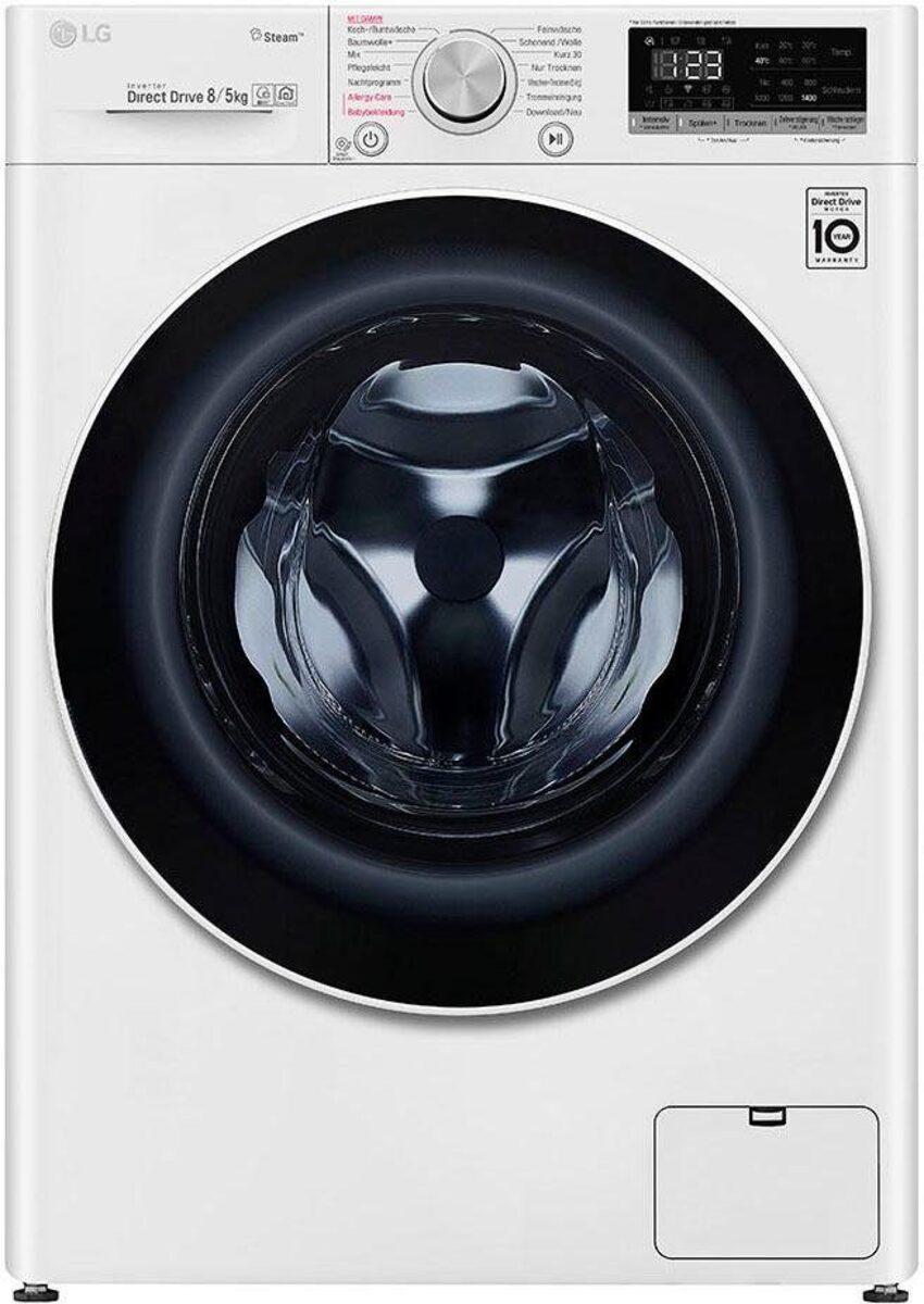 Bild 2 von LG Waschtrockner 4 V4 WD 85S1, 8 kg/5 kg, 1400 U/Min, mit Dampftechnologie