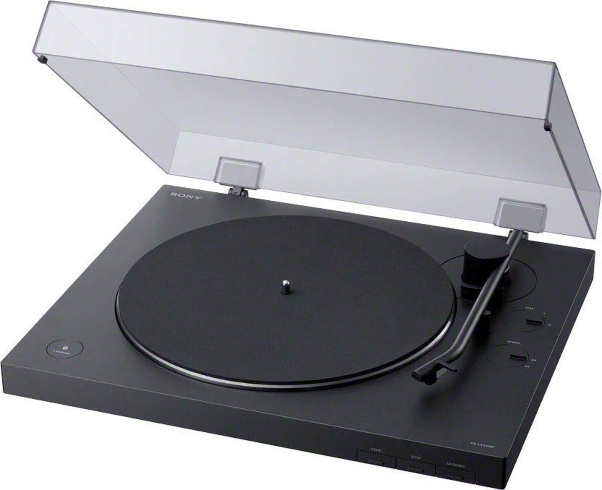 Bild 2 von Sony »PS-LX310BT« Plattenspieler (Riemenantrieb, Bluetooth, Phono Vorverstärker, Auto-Play Funktion, Aluminium Plattenteller)