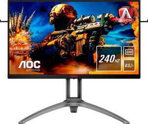 AOC AG273QZ Gaming-Monitor (2560 x 1440 Pixel, QHD, 0,5 ms Reaktionszeit, 240 Hz)