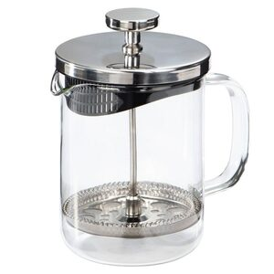 Xavax Tee-/Kaffee-Bereiter, 0,6 Liter »Glas Design«