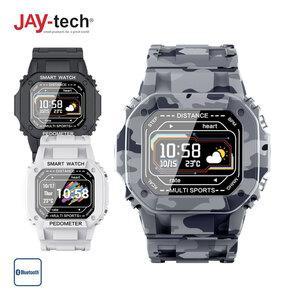 Outdoor-Smartwatch SWi2 · Sportmodus: Schrittzähler, Distanz, Kalorienverbrauch · Blutdrucksensor + Blutsauerstoffanzeige · Pulsmesser · Smartphone-Benachrichtigungen · wasserfest (IP67)