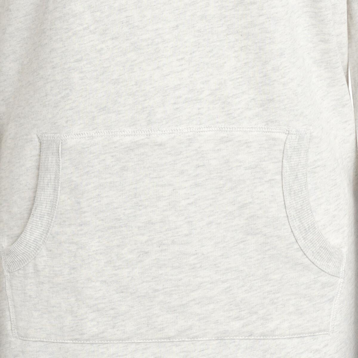 Bild 3 von Damen Sweatkleid mit Kängurutasche