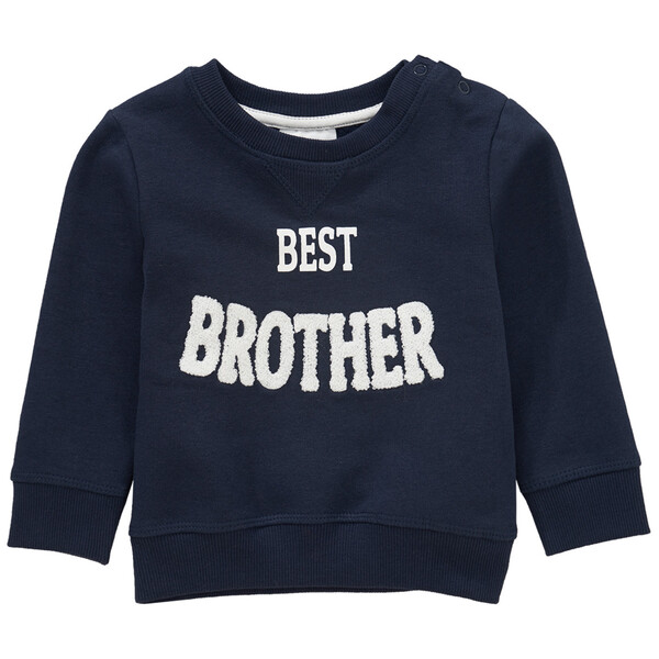 Baby Sweatshirt mit Message-Print