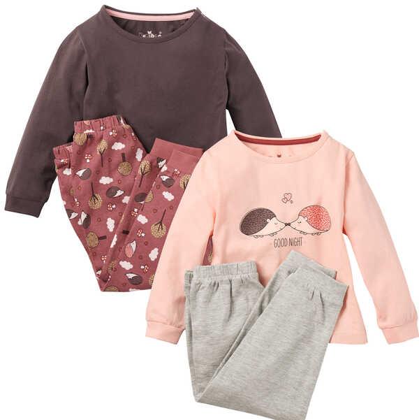 KUNIBOO®  Mädchen-Pyjama
