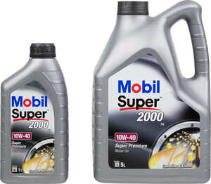 MOBIL  Motorenöl 10W-40 »2000X1«